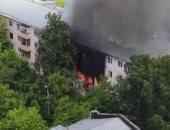 انفجار بمبنى سكنى يهز العاصمة الروسية موسكو... فيديو