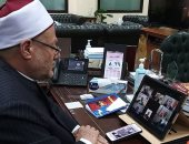 المفتى: ليس غريبًا على مصر الأزهر الشريف بمؤسساته المشاركة فى نُصرة القدس الشريف