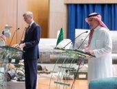 أبرز تصريحات مؤتمر وزير الدولة السعودى للشئون الخارجية ومبعوث أمريكا الخاص بإيران