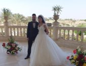 صور.. عقد قران حفيدة الزعيم الراحل جمال عبد الناصر