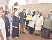محافظ أسيوط: توافر أدوية كورونا بمستشفيات الصدر والحميات والإيمان والشاملة