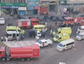 7 قرارات للنيابة بحادث مصرع 7 مرضى بكورونا فى حريق مستشفى عزل بالإسكندرية