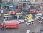 صحة الإسكندرية تشكل لجنة لتحديد أسباب حريق مستشفى خاص أدى لمصرع 7 مرضى كورونا
