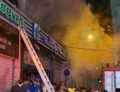 الحماية المدنية بالإسكندرية تخلى مستشفى خاص للولادة بعد اندلاع حريق