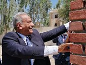 مدير التفتيش القضائى يضع حجر الأساس لمجمع النيابة الإدارية بقنا (صور)