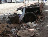 قارئة تشكو تراكم القمامة ومخلفات البناء فى شارع الكمال بالزيتون