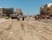 حى ثان المحلة ينفذ حملة مكبرة لرفع تلال القمامة بشوارع المدينة.. صور