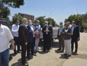 محافظ الجيزة يتفقد مدينتى أوسيم ومنشأة القناطر ويوجه بتحسين الخدمات