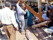 حملة مكبرة لفض سوق الثلاثاء بمدينة كفر الزيات