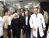 وزيرة الصحة تزور بورسعيد لتفقد مستشفى أطفال النصر ومجمع هيئات التأمين الصحى