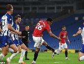 ملخص وأهداف مباراة برايتون ضد مانشستر يونايتد 0-3 في الدوري الإنجليزي