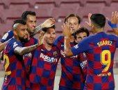 """بلد الوليد ضد برشلونة.. فيدال يفتتح أهداف البارسا فى الدقيقة 15 """"فيديو"""""""