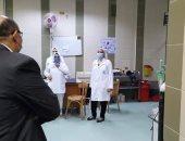 نائب رئيس جامعة المنصورة: استعدادات طبية قبل بدء اختبارات طلاب الفرق النهائية