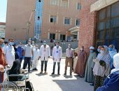 صحة بنى سويف: تعافى 16 مصابا بكورونا وخروجهم من مستشفى الواسطى