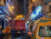 الحماية المدنية بالإسكندرية تسيطر على حريق نشب فى مستشفى للولادة دون إصابات