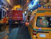 النيابة تعاين حريق مستشفى خاص للولادة اندلع دون خسائر بالإسكندرية