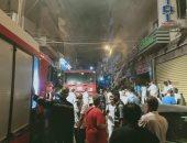محافظة الاسكندرية: إخلاء 4 أطفال من حريق مسشتفى الولادة ولا وفيات
