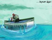 كاريكاتير صحيفة فلسطينية.. الليرة اللبنانية تخوض معركة مع أزمة الاقتصاد