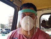 كمامتك حمايتك.. محمود صبحى يشارك بصورة له ملتزما بالإجراءات الوقائية