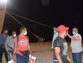 استقبال 348 شخصا قادمين عبر ميناء نويبع والانتهاء من إجراءات تعقيمهم