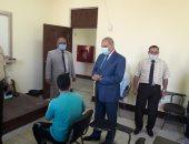 رئيس جامعة الأزهر يتفقد لجان امتحانات التخلفات ويشيد بالإجراءات الاحترازية