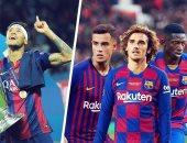 بالأرقام.. 3 نجوم بـ390 مليون يورو فشلوا فى تعويض نيمار مع برشلونة