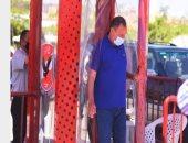 القبض على المتهمين بسرقة فيلا محمود الخطيب وبحوزتهم المسروقات