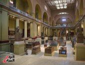 فتح المتحف المصرى بالتحرير أمام الزائرين