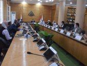 نائب رئيس جامعة بنها يستقبل وفد الهيئة العربية للتصنيع لبحث التعاون المشترك