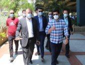 وزير الرياضة يزور مركز شباب الجزيرة بعد عودة النشاط