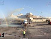 نائب وزير الطيران المدنى يشهد مراسم تجديد شهادة الأيزو لمطار شرم الشيخ