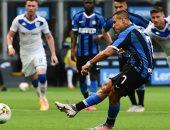 إنتر ميلان يفتقد سانشيز فى نصف نهائي الدوري الأوروبى للإصابة