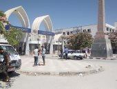 توافد طلاب الفرق النهائية على جامعة المنيا وسط إجراءات احترازية مشدده