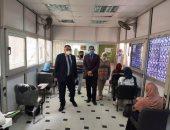 نائب رئيس جامعة الإسكندرية يتفقد امتحانات الفرقة الرابعة.. صور