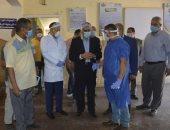 محافظ الجيزة يتفقد مستشفيات أوسيم ومبارك المركزى ويوجه بتوفير 5 أجهزة أشعه