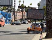فيديو.. إجلاء عشرات العائلات فى كاليفورنيا بسبب حرائق الغابات