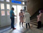 صور.. طلاب صيدلة الإسكندرية يؤدون امتحانات السنة النهائية
