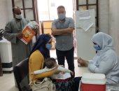 صور.. انطلاق حملة التطعيم ضد مرض شلل الأطفال بالجيزة
