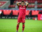 إصابة باولينيو مهاجم باير ليفركوزن بالرباط الصليبى قبل نهائى كأس ألمانيا