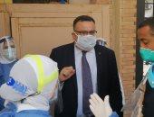 نائب رئيس جامعة الإسكندرية يتفقد امتحانات الفرقة النهائية بكليات الزراعة