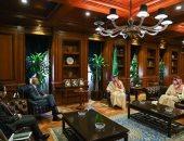 وزير الدولة للشؤون الخارجية السعودى يلتقى السفير الإيطالى