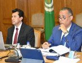 أشرف صبحى يترأس اجتماع المكتب التنفيذى لوزراء الرياضة العرب بالفيديو كونفرانس