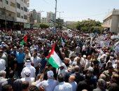 فلسطين .. مظاهرات فى قطاع غزة ضد خطة الاحتلال لضم أجزاء من الضفة الغربية