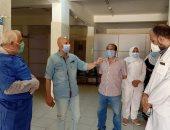 """وكيل """"صحة الشرقية"""" يعاين مبانى مقترحة لمدرسة التمريض بمشتول السوق"""