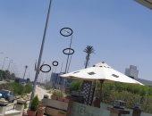 شكوى من إضاءة أعمدة الإنارة فى النهار على محور مصطفى كامل بالتجمع الأول