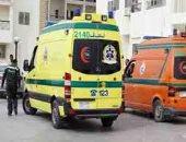 إصابة شخصين فى انقلاب سيارة ملاكى بطريق الغردقة - جبل الزيت