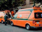 إصابة 3 أشخاص فى حادث تصادم أمام قرية حوض نجيح بالشرقية