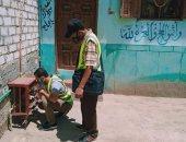 ضبط 15 وصلة مياه بالمخالفة للقانون فى 4 قرى بالشرقية