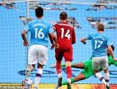 """مان سيتي ضد ليفربول.. الريدز يتأخر بثلاثية نظيفة في الشوط الأول """"فيديو"""""""