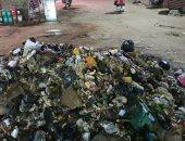 شكوى من تراكم القمامة فى شارع المطرواى التابع لحى المطرية محافظة القاهرة